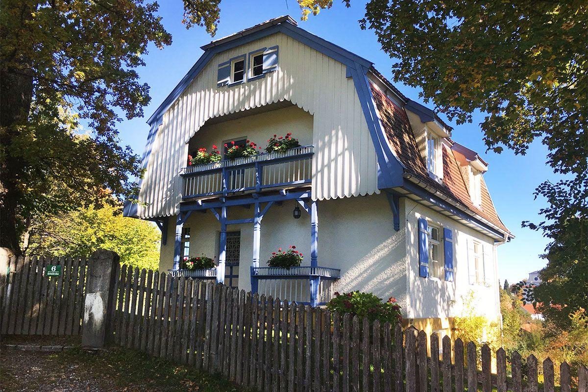 Sehenswürdigkeiten Murnau Das Münter-Haus