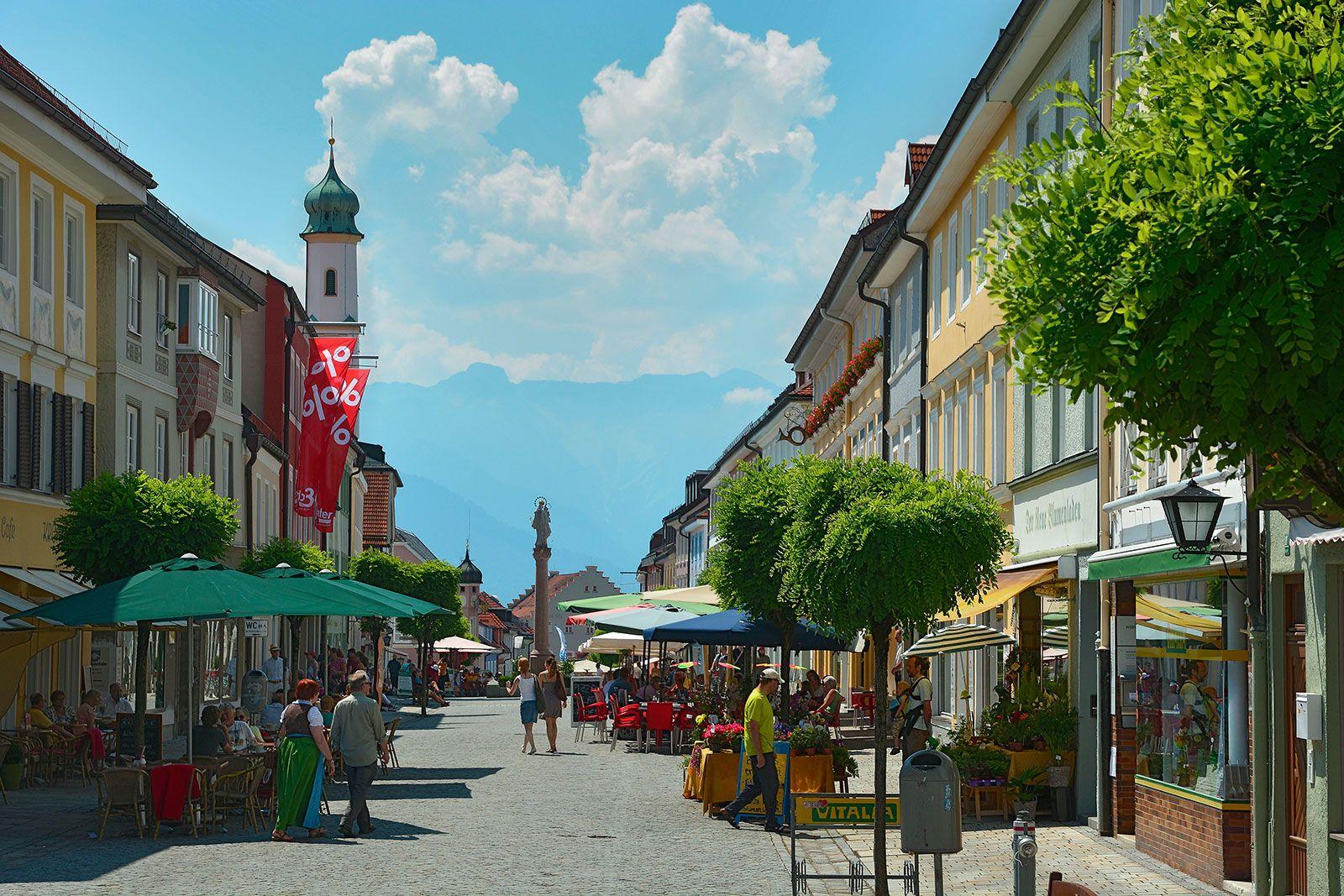 Sehenswürdigkeiten Murnau Innenstadt